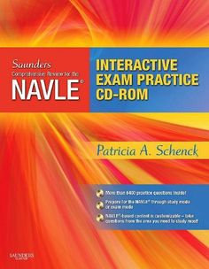 Saunders Comprehensive Review for the NAVLE® Board Review and Exam Practice Package, 1e by Patricia Schenck DVM  PhD. $198.82. Publication: October 14, 2009. Edition - 1 Pap/Cdr. Publisher: Saunders; 1 Pap/Cdr edition (October 14, 2009)