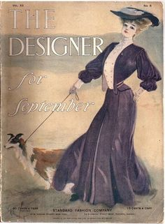 1904 Fashion Magazine, includes bonnet hat pattern :)