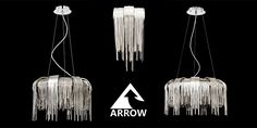 Get these stunning centre pieces using nickel chains as a waterfall effect. Made my us, Arrow Electrical! Centre Pieces, Chains, Waterfall, Chandelier, Ceiling Lights, Home Decor, Centerpieces, Candelabra