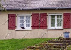 Breton Kitty Cat Kitten in Windowsill w/ Shutters Brittany France Fine Art Photography Print $14.00 - $40.00