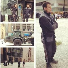 Divergent movie set ~Divergent~ ~Insurgent~ ~Allegiant~