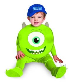 For a fun party try Monsters U Mike Infant Costume. Exclusive stock of Monsters Inc. Costumes for Birthday, Halloween at PartyBell. Monsters Inc Halloween, Twin Halloween, Theme Halloween, Toddler Costumes, Cute Halloween Costumes, Baby Costumes, Spirit Halloween, Halloween Ideas, Halloween 2013