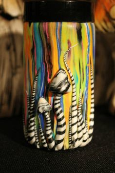 STASH JAR 3 oz glss Stash jar. Multicolor by TakeMeAwayCustoms