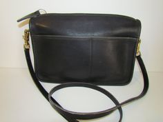Vintage Coach Leather Crossbody Bag by daringmisslassiter on Etsy, $50.00