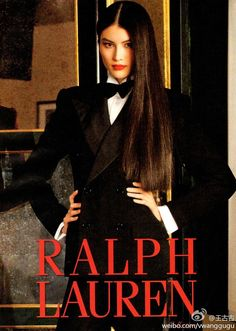 Ralph Lauren FW 2011 Sui He by Sheila Metzner  She's one of my fave Ralph girl