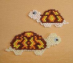 Peyote Turtles instructons