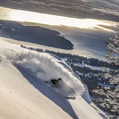 lswieykowski on a trail of pure stoke Snowboard, Skiing, Trail, Waves, Pure Products, Mountains, Nature, Life, Outdoor