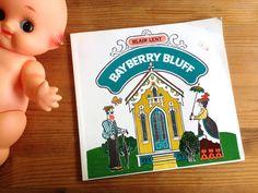 Vintage Children's Book. 'Bayberry Bluff' by Blair Lent. Paperback. Beautiful Cardboard Cut Illustrations. Martha's Vineyard. Oak Bluffs. by AntVillage on Etsy