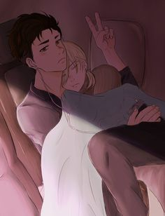 cuddly airplane OtaYuri