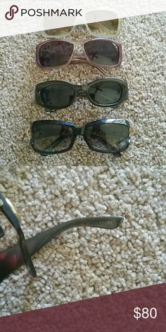 Sunglasses. New never worn Authintic Gucci sunglasses Gucci Accessories Sunglasses