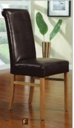 Leather Paris dining chair – roll back http://solidwoodfurniture.co/product-details-sofas-3320-leather-paris-dining-chair-roll-back.html
