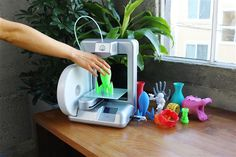 Cube 3D Home Printer, a lightweight, 8.5 pounds, printer will allow you to print literally anything you want in 3D!!