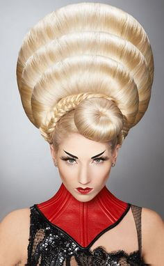 Stunning hair colours. Amazing hair designs. Avant-garde .Hugely inspiring for a professional photographer based in Bury St. Edmunds, Suffolk http://www.EricYoungPhotography.co.uk