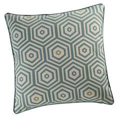 Shop for comfortable cushions and decorative pillows at Maisons du Monde. Modern Cushions, Blue Cushions, Soft Furnishings, Art Deco Fashion, Cushion Covers, Decoration, Interior Styling, Home Accessories, Decorative Pillows