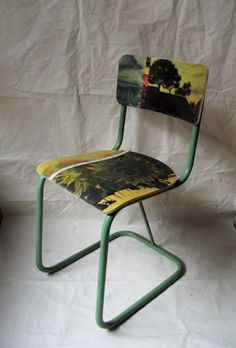 Swarm- painted chairs