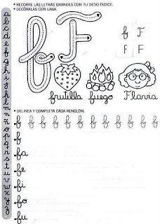 Actividades Escolares: caligrafía para el primer ciclo Make Tutorial, Batman Vs Superman, Teaching Resources, Homeschool, Stencil, Letters, Album, Education, Reading