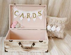 Or et rose crème antique Wedding carte titulaire par LaceandLuxe