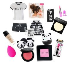 """""""In the morning"""" by hrogers010 on Polyvore featuring Ally Fashion, Aéropostale, Tony Moly, Casetify, Bobbi Brown Cosmetics, Guerlain, beautyblender, Lime Crime and L'Oréal Paris"""