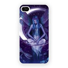 Fairy Dragonflies Moon iPhone 4/4s Case: Amazon.co.uk: Electronics
