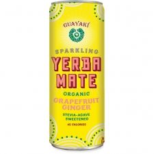 My current favorite cold drink:  Guayaki's Grapefruit Ginger Mate