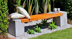 How to build a designer bench