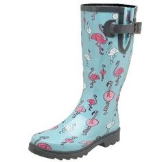 (vu) Chooka Women's Pink Pingos Rain Boot | Shop fashion, accessories| Kaboodle