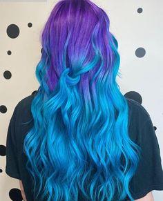 Vibrant Hair Colors, Hair Dye Colors, Colorful Hair, Bright Colored Hair, Pastel Rainbow Hair, Vivid Hair Color, Different Hair Colors, Coloured Hair, Beautiful Hair Color