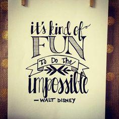 ¡Feliz fin de semana! Es divertido hacer lo imposible. #Milonga te invita a soñar y a luchar por alcanzar tus metas.
