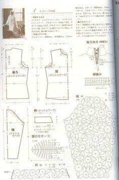 Irish Crochet - blouse 3/3