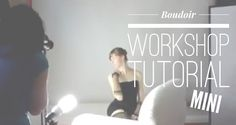 This tutorial is full of annotations. Look below for *time stamps* Join us and be a fly on the wall as Ann an Stefanie learn a few tips in this mini boudoir ...