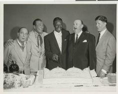 Buster, Harry Richman, Nat King Cole, Paul Whiteman and Rudy Vallee.