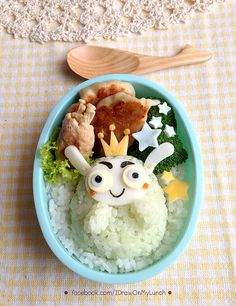King Cabbage Lunch box by ~loveewa on deviantART