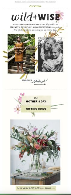 Terrain Mother's Day