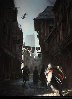 Assassins creed unity concept art | Assassins_Creed_Unity_Concept_Art_Gilles_Beloeil_07