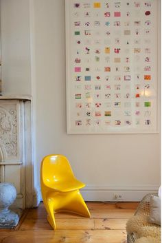 Kiki's List: A Composition of Perfection. Scan kids' artwork, print smaller images of it and display in gallery frames!