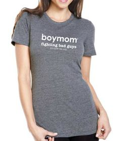 Fighting Bad Guys/It's How We Roll: Boymom designs - apparel for moms of boys