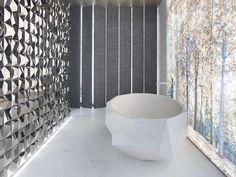 Add a focal point in your #home by using dimensional #tiles  @anticcolonial #italiaceramics #design #homeideas #homedesign #interiordesign #trends #design #walltiles #floortiles #tiledesign #tileaddiction #tilesetter #inspiraton #instadesign #modern #tilelove #tileaddiction #instadecor #instadesign #instainspiration #designlovers #lovedesign #bathroom #bathroomdesign #bathroomtiles #bathroomideas #bathroomdecor #bathroominspo #homify