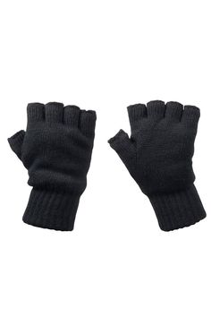 Mountain Warehouse Fingerless Knitted Unisex Everyday light Gloves -- More info could be found at the image url.