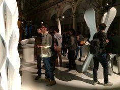Digital Lithic Design by night, la mostra di Marmomacc 2015 per il FuoriSalone. Realizzata nell'ambito della mostra-evento Energy for Creativity - organizzata da Interni Magazine - Digital Lithic Design mette in luce l'eccellenza tecnologica applicata al marmo, attraverso le installazioni di 7 aziende leader del settore litico. Scopri di più: goo.gl/mgFcL0!