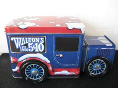 Collectible Walton's 5 & 10 truck tin turning by BandSBargains