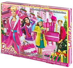 Mattel Barbie CLR43 - Adventskalender Barbie 2015: Amazon.de: Spielzeug