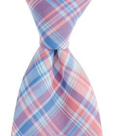 George Hill Plaid Woven Tie