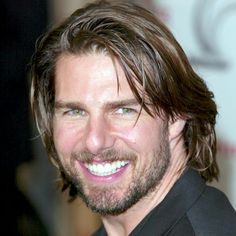 Tom Cruise's Changing Looks Bandana Hairstyles For Long Hair, Teen Boy Hairstyles, Curly Hair Men, Funky Hairstyles, Haircuts For Men, Curly Hair Styles, Formal Hairstyles, Men Hair, Nicole Kidman