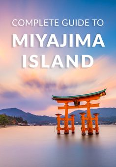 As one of Japan's top sites, a day trip to Miyajima Island to see the famous floating Itsukushima Torii Gate is a must while in Japan. A Guide to Miyajima… Japan Travel Tips, Asia Travel, Time Travel, Wanderlust Travel, Travel Advice, Travel Guides, Travel Articles, Travel With Kids, Family Travel