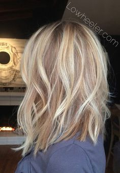 Casual, Everyday Haircut For Women Medium Hair - Balayage . Medium layered hair Casual, Everyday Haircut for Women Medium Hair - Balayage - Kids and parenting Blonde Bob Hairstyles, Bob Hairstyles For Fine Hair, Everyday Hairstyles, Middle Hairstyles, Layered Hairstyles, Easy Hairstyles, Bob Haircuts, Medium Blonde Haircuts, Medium Thin Hairstyles