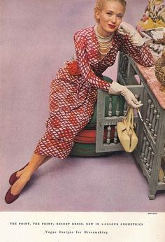 November Vogue 1948 - John Rawlings  CLICK THE PIC and Learn how you can EARN MONEY while still having fun on Pinterest
