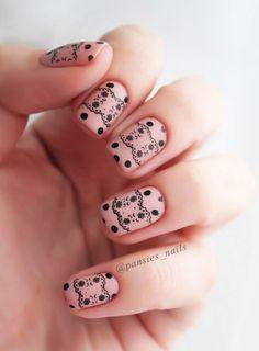 stamping nail art m95
