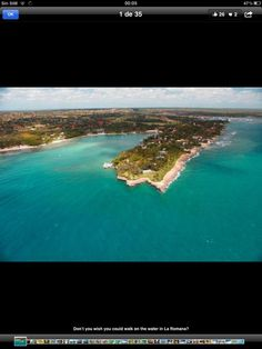 Caribbean Sea in La Romana