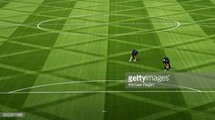 Fotografía de noticias : General view of the pitch during the Premier...