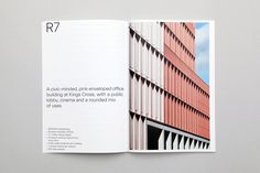 Naming, logotype, tote bags, stationery, brand guiedlines and brochures by Bob Design for architectural practice Morris+Company Magazine Layout Design, Book Design Layout, Print Layout, Portfolio Design, Company Portfolio, Portfolio Ideas, Architecture Portfolio Template, Architecture Magazines, Webdesign Portfolio